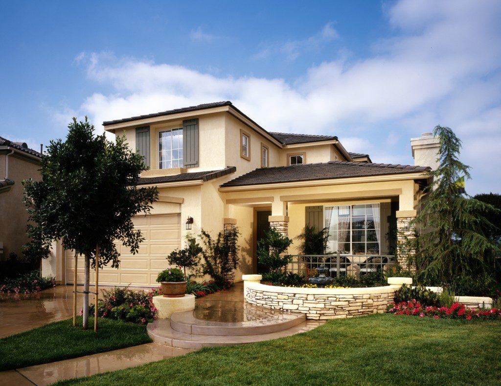Modern Home Landscape